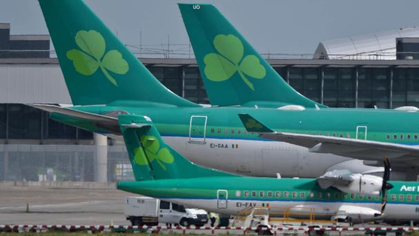 Luckily the Aer Lingus jet had enough room to take a right around the Cessna