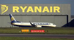 Ryanair recorded a record 10.4 million customers in August