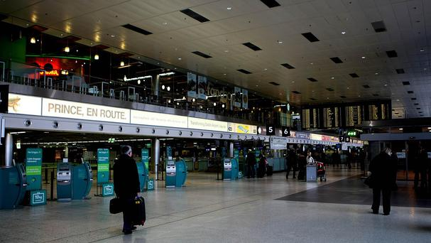 Dublin Airport: File picture