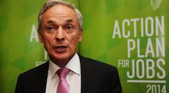 Job Minister Richard Bruton said technology was at the heart of the Action Plan for Jobs