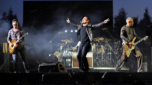 U2 will perform two shows in Belfast and four in Dublin later this year