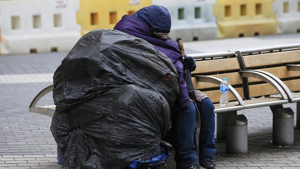 Around 150 people are sleeping rough each night, according to the charity