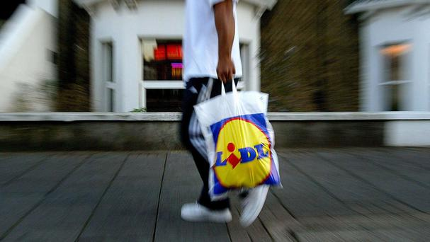Lidl - no frills approach.