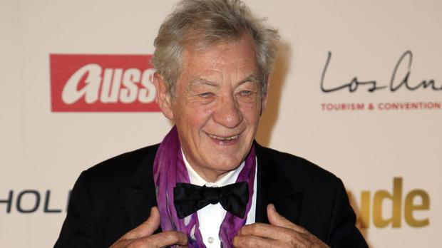 Sir Ian McKellen at the Attitude awards at the Banqueting House, Whitehall