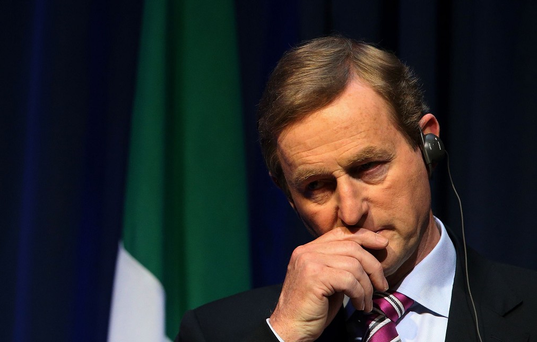 Confusion as Enda Kenny says he did not receive 'specific' briefing from Central Bank governor requiring army to guard ATMs