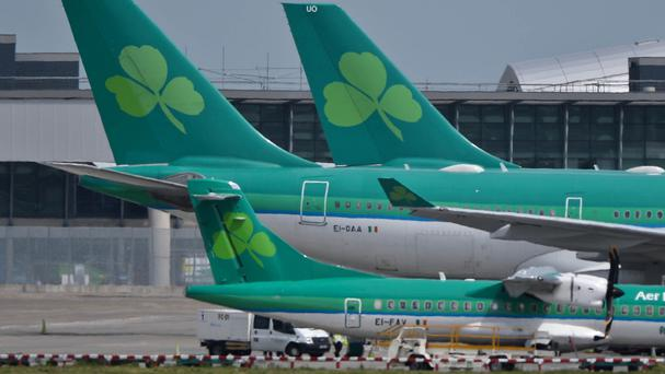Aer Lingus announced last month that it will relaunch its service between Dublin and Los Angeles next year. Photo: PA
