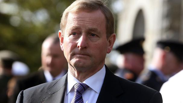 Enda Kenny established the Commission of Investigation after allegations of favourable deals for some clients of the Irish Bank Resolution Corporation