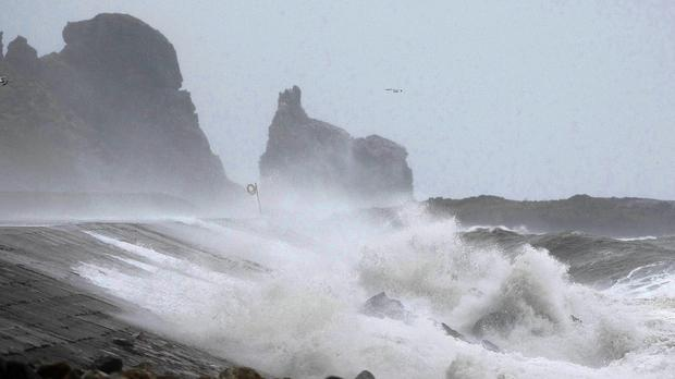 Met Eireann issued a weather warning today