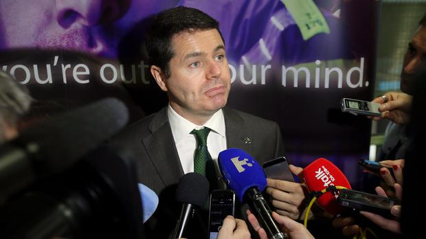 Mr Donohoe said this new piece of legislation would act as the necessary 'strong legal foundations for the use of the new drug testing mechanisms'