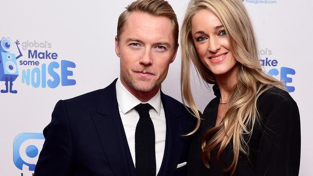 Ronan Keating said he and wife Storm Uechtritz are 'living the dream'
