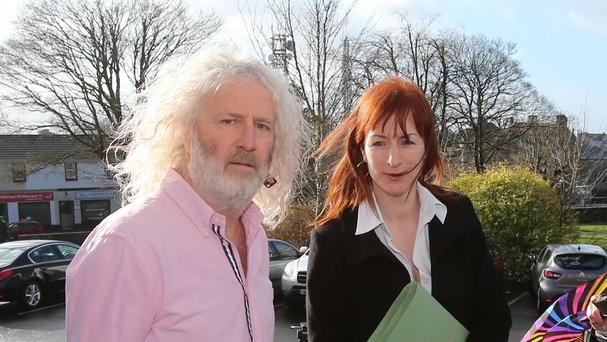 Independent TDs Mick Wallace and Clare Daly
