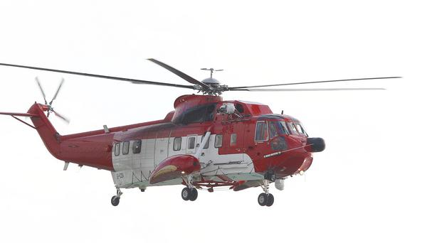 Rescue 118 will deliver the passengers, together with post and vital supplies to the island
