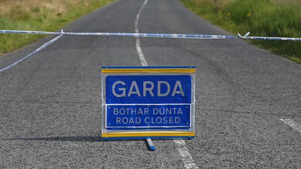 Gardai are investigating the collision