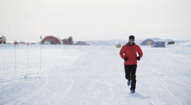 Richard Donovan, from Galway, is preparing to brave some of the coldest temperatures on the planet for a run across Antarctica