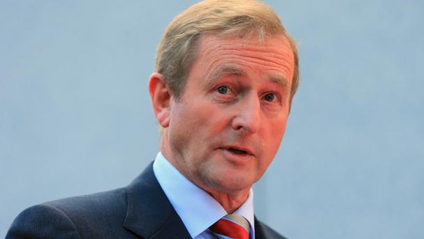 Enda Kenny. Photo: Niall Carson/PA Wire