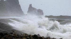 Storm Henry reached its peak late last night with average winds of 65kph to 80kph, though gusts of almost 130kph are understood to have been recorded off Donegal. PA