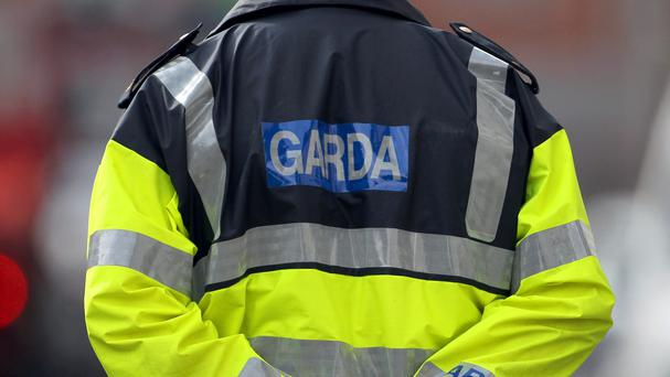 Gardai were forced to give chase in both cars and on foot