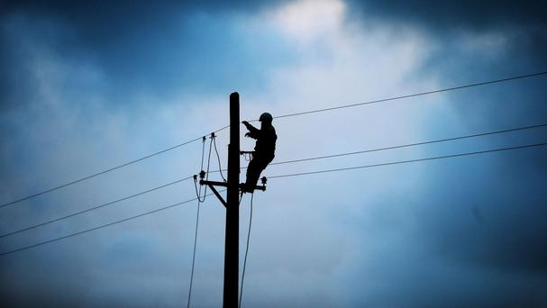 The power outage happened in the Dublin 8 area.