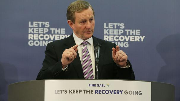 'I'll then ask them to explain to me how the slogan 'Let's Keep the Recovery Going' is justifiable when the people on the ground in the Taoiseach's own constituency are being denied access to basic health recovery'. Photo: PA