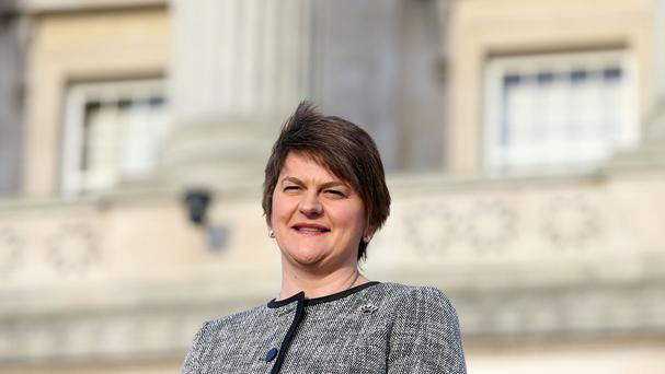 Arlene Foster of the DUP
