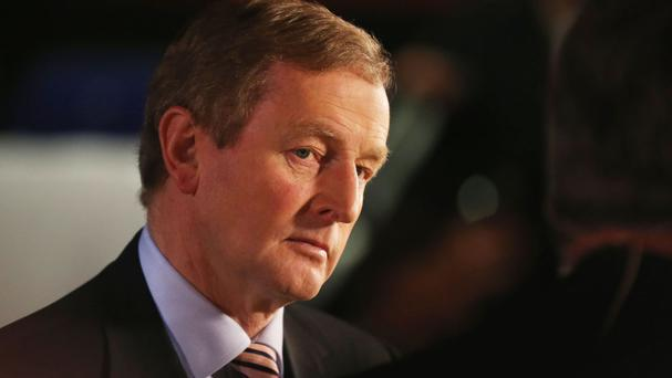 'The 'certainly not' reply Mr Kenny gave when asked if he'd do business with Fianna Fáil during one of the TV debates meant absolutely nothing.'