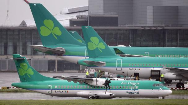 AirHelp said that its solicitors have sent 293 letters in recent weeks, 259 of them to Ryanair, 30 to Aer Lingus and four to CityJet. Photo: PA