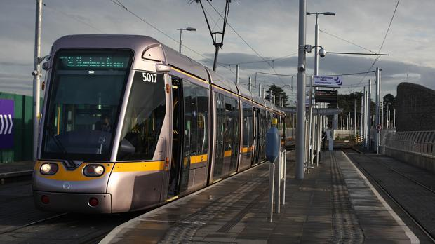 Luas operator Transdev is obliged to pay the state a €10m penalty if it fails to meet its contractual duties to deliver the light rail service. Photo: PA