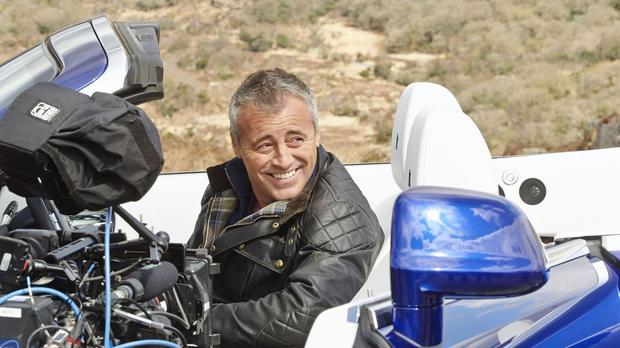Matt LeBlanc driving a new Rolls-Royce Dawn around Ireland's Ring of Kerry (BBC/PA)