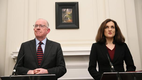 Mr Flanagan's comments clash with those of Northern Ireland Secretary Theresa Villiers, who said borders will not be affected by a Brexit