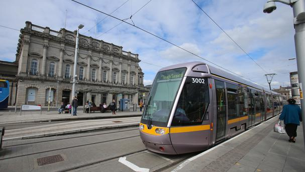 Luas carries up to 90,000 passengers across Dublin every day