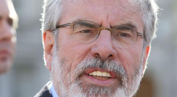Gerry Adams said those criticising his tweets either did not understand them or were misrepresenting them