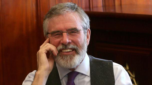 'In Sinn Féin they do things rather differently, especially when it comes to Adams'
