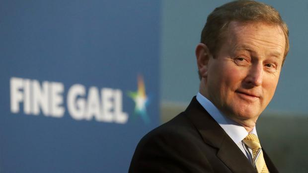 Enda Kenny has been re-elected as Taoiseach