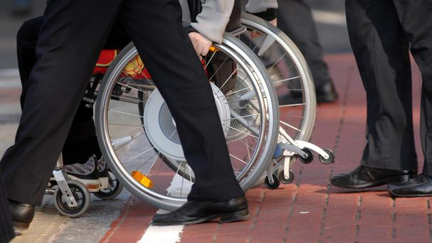 An estimated 600,000 people in Ireland live with disabilities