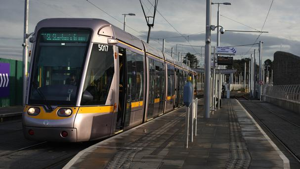 Fine Gael councillor Paddy Smyth sparked fury by suggesting Luas trams should drive themselves in the future. Photo: PA