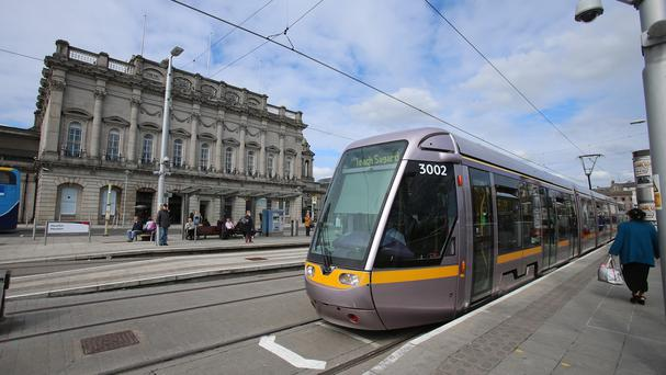 A Luas security staff strike would add to those already called by drivers Photo: PA