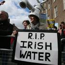 There have been many demonstrations against the water tax