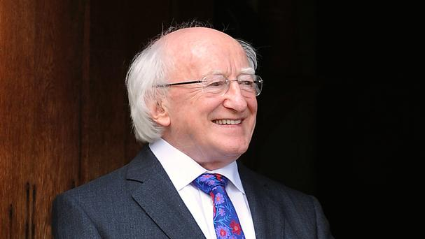 President Michael D Higgins Picture: PA