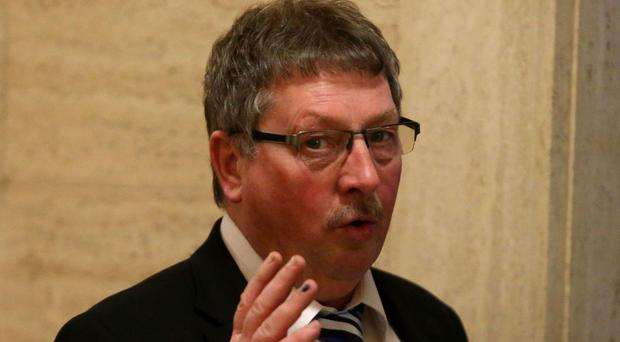 Pro-Brexit Sammy Wilson of the DUP