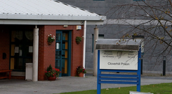 Cloverhill Prison in west Dublin