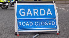 The road is currently closed pending the completion of an examination by forensics