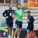 Republic of Ireland's Daryl Murphy during a training session at the Stade de Montbauron, Versailles