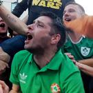 Irish fans are preparing to see their team play hosts France in Lyon