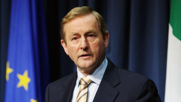 Taoiseach Enda Kenny Photo: