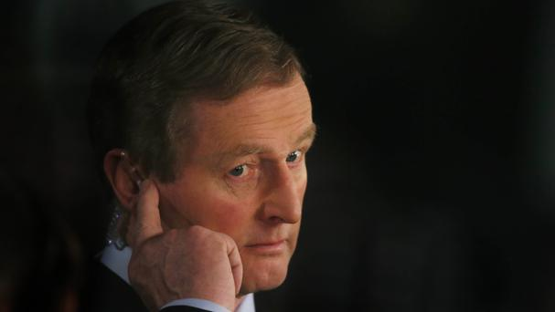 Enda Kenny. Picture: PA