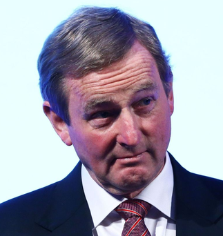 'Enda Kenny makes the point that the Brexit negotiations have to factor in that the citizens of Northern Ireland might choose, at some point, to reunite with the Republic of Ireland'