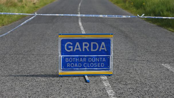 A man has been killed in a single vehicle crash