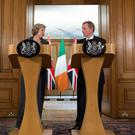 Theresa May and Enda Kenny met to discuss the implications of Brexit