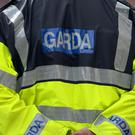 Gardai said the man was caught hiding behind a wheelie bin