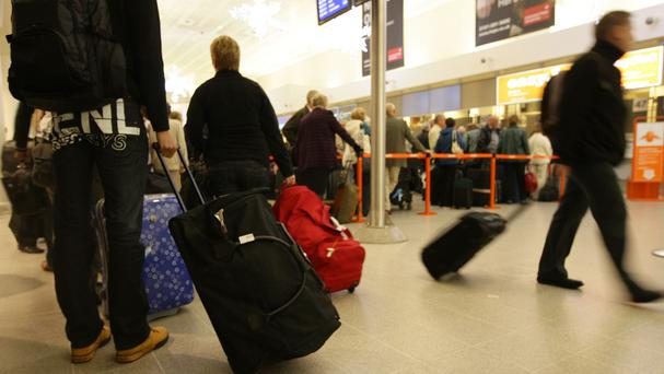 The top six items given up by passengers at Dublin Airport are bottles of water, soft drinks, hand creams, make-up, sharp items and alcohol purchased as gifts, a Dublin Airport spokesperson revealed (Stock image)